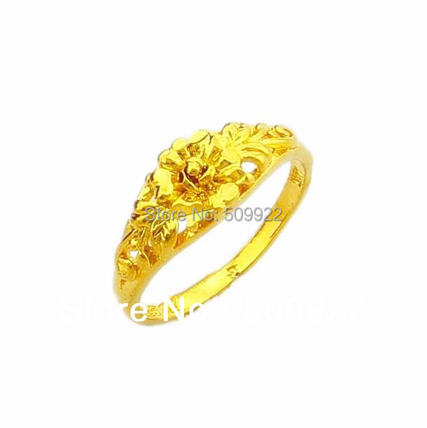 finger gold ring