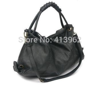 Hot Casual     New Korean Style Lady Hobo  PU Leather Women Handbag Shoulder Bag Hotsale New CZ113