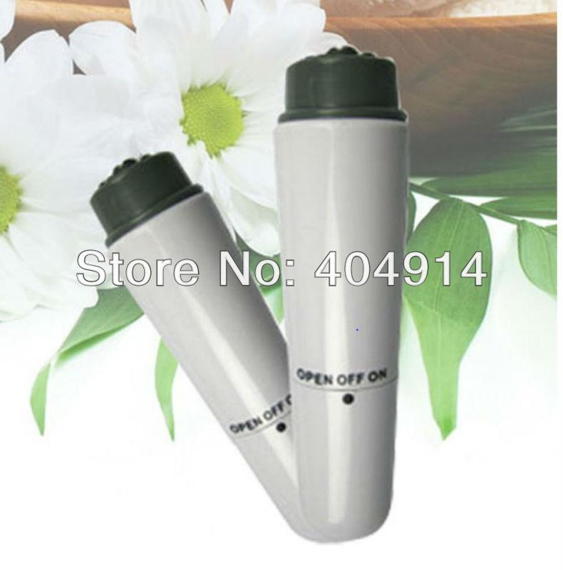 Pocket Portable Mini massager Eye/Neck/Scalp/Face/Skin Care Massager Full Body Vibrator with 4 Massage Heads(China (Mainland))