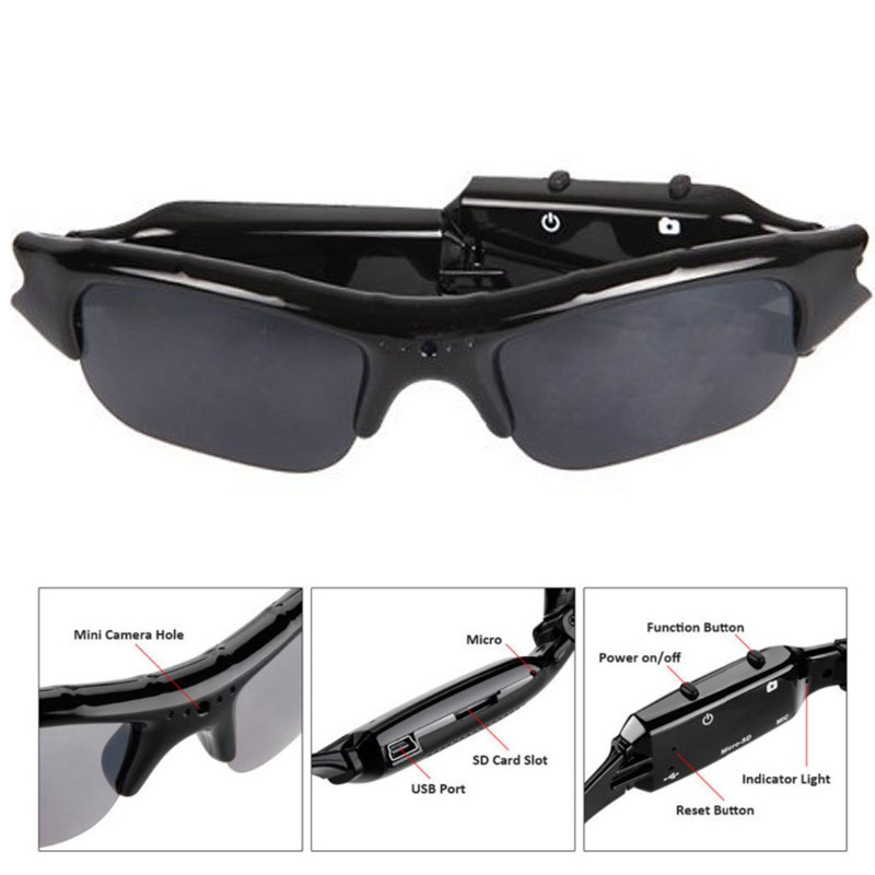 Order 480P 8GB Memory Card Multi Function Outdoor Video Glasses Sports Glasses S