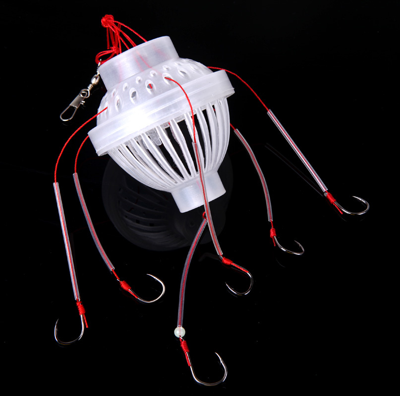 Fishing Tackle Sea Monster with Six Strong Spherical Fishing Hook Hooks(China (Mainland))