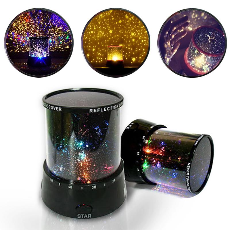 Star Master Night Colorful Sky Light Lovely Sky Starry Star Projector Novelty Gifts ZK90(China (Mainland))