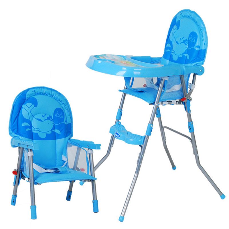 2016 hot sale Children eat chair baby chairs multi function folding portable