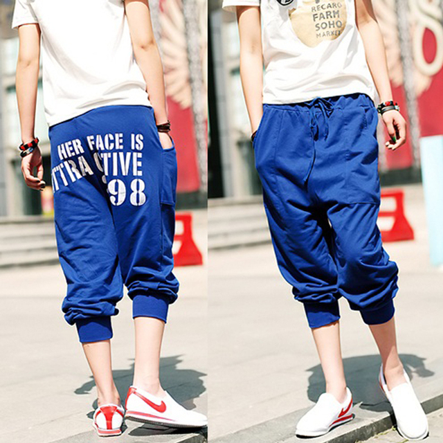 2013 new spring and summer mens pants casual fashion trousers brand new sports men's sports pants british flag D109