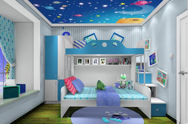 Space Wallpaper For Kids Room Home Design Architecture Cilifcom - Space kids room