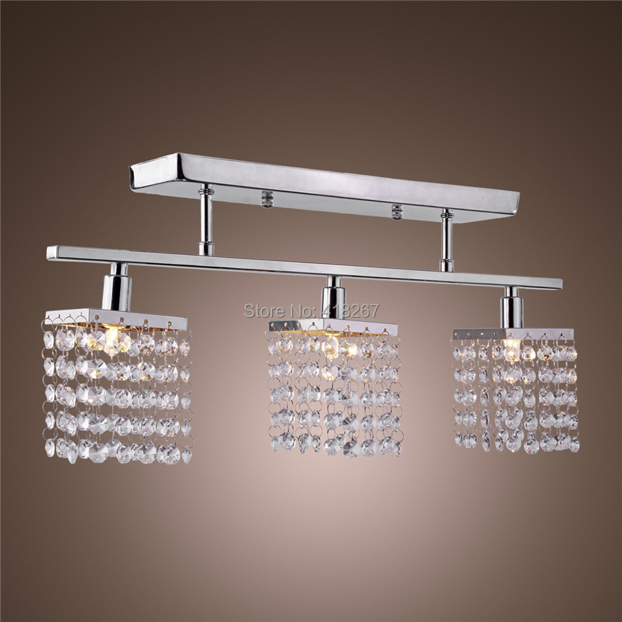 Ceiling Light Fixture Dining Room : Light hanging crystal ceiling lights modern flush mount