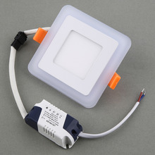 Dimmable LED Panel Downlight Square Panel Lights High Brightness Ceiling Recessed Lamps For Home cool white, warm whte(China (Mainland))