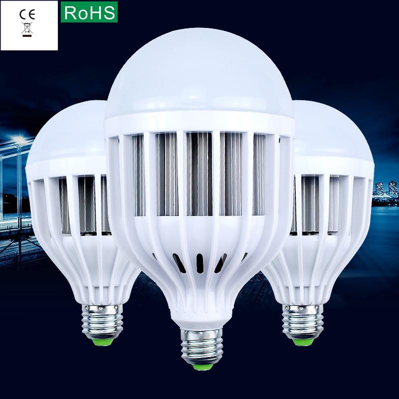 High quality plastic, 85-265 - v voltage led bulbs E27 screw B22 bayonet 15 w18w24w36w high-power energy-saving lamps<br><br>Aliexpress