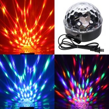 DMX Control Digital LED RGB Crystal Magic Ball Effect Light for Stage Party Disco DJ Bar Lighting EU/US/UK Adapter Dropshipping<br><br>Aliexpress