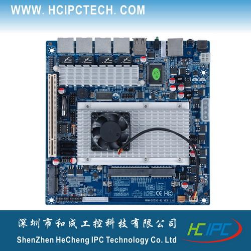 2063-2 LAN-HCM25L4-B,Atom D2250 Firewall Embedded Motherboard,Mini ITX motherboards for POS,Digital signature,bank terminal etc<br><br>Aliexpress