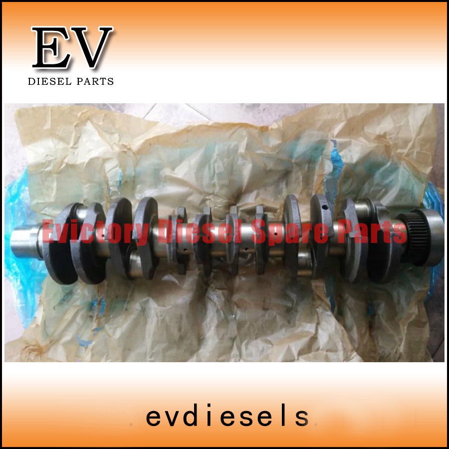 For Volvo EC240B engine parts D7D crankshaft forged steel(China (Mainland))