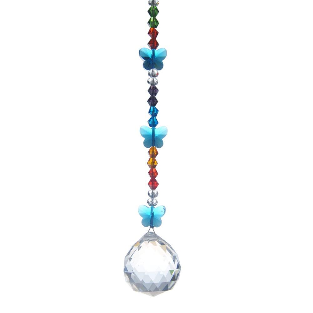 30mm Lighting Ball Accessories Pendants Butterfly Beads