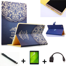 2015 New Listing! 4in1 Child Children Leather case for Huawei Mediapad M2 Case for Huawei M2-801W M2-803L Tablet Case