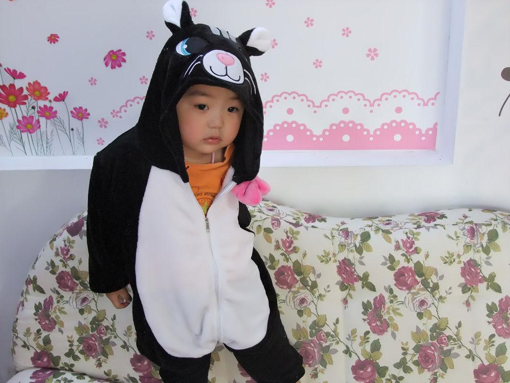Дети детям мужская пижамы косплей костюм животных Onesie пижамы пингвин кун единорог вышивки крестом кролик панда тоторо динозавров