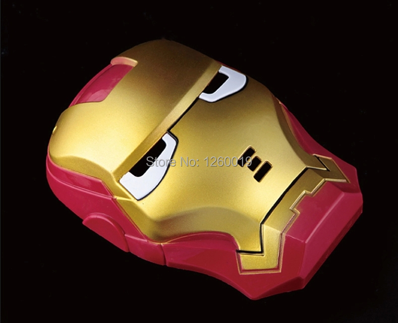 New Hot Sale Iron Iron Man mask for children with lamp light for party Iron Man