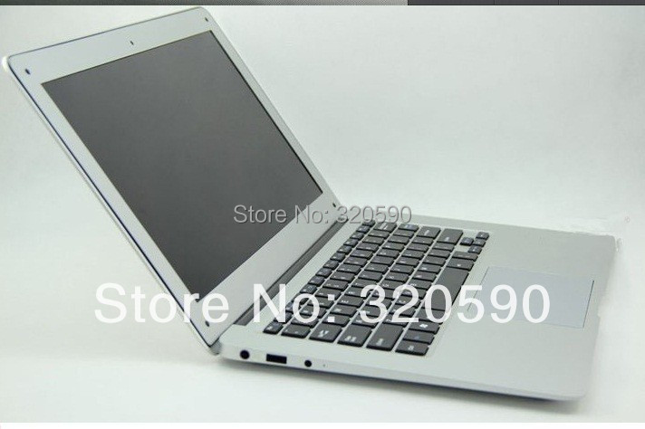 14 inch 14 inch Dual Core laptop tablet pc 2G DDR3 320G win 7 Air Book D2500 Notebook Computer PC ultrabook cheap laptops(China (Mainland))