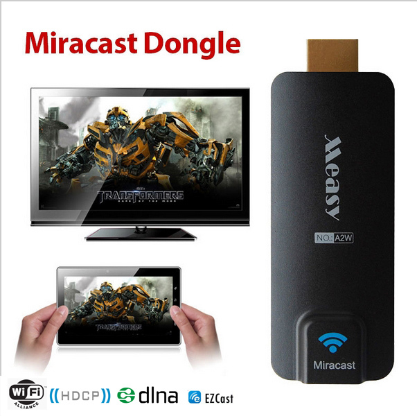 Measy A2W Miracast Wifi Display HDMI TV Dongle Wireless Receiver Ezcast Airplay DLNA Streaming Media Support Android IOS Windows - Shenzhen Whasrp technology Co.,Ltd store