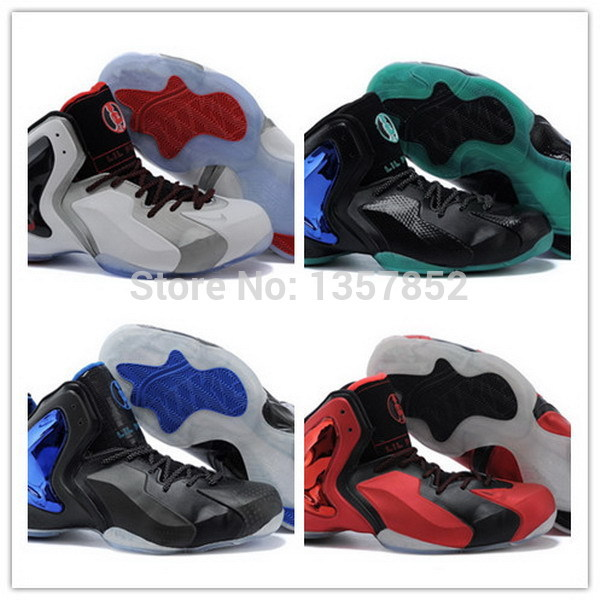 hot sale ! Top Quality Men's Lil Penny Posite many Colors Basketball Shoes trainers Athletic shoes(China (Mainland))