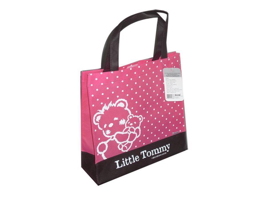 wholesale customization500pcs/lot made printed logo gift non woven bag reusable promotion hand handle shopping bag free shipping(China (Mainland))