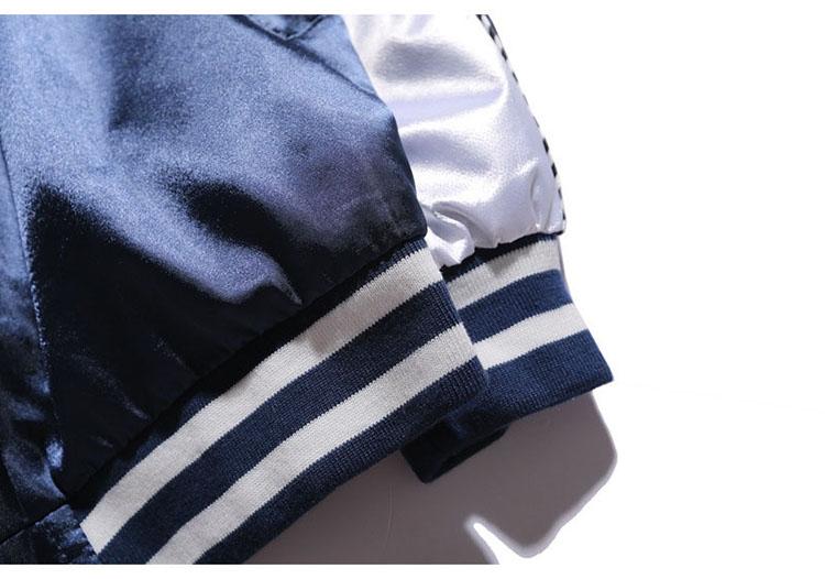Aolamegs Yokosuka Jacket Men Women Fashion Vintage Bomber Jacket Baseball Uniform High Quality Embroidery Japan Yokosuka Outwear (16)