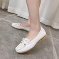 Weweya NEW Women Shoes Ballerina Flats Bowtie Shallow Female Shoes Slip on Ballet Flats Chaussure Femme