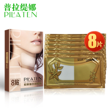 PILATEN Crystal Collagen neck mask, anti wrinkle moisture 8pack/box(China (Mainland))