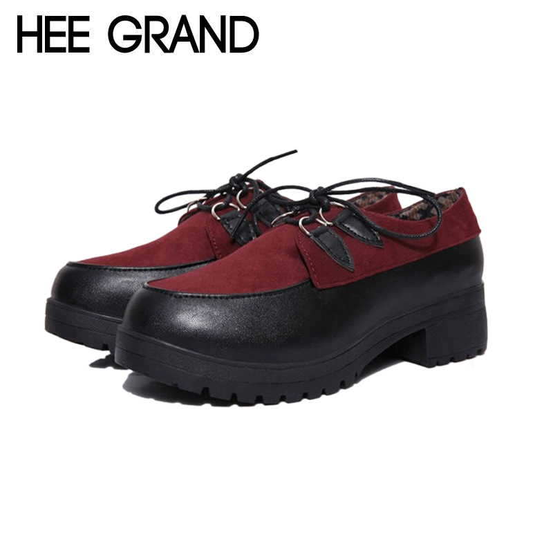 new 2014 flat platform shoes, new fashion women's shoes vintage lace-up Creepers Boat Shoes Summer Autumn shoes,XWD272