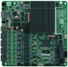 4 gigabit Bay trail SOC J1800 MINI ITX 4 LAN Motherboard for Firewall Router(China (Mainland))