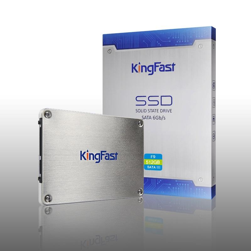 Kingfast ultrathin metal 2 5 SATAIII hard disk with cache internal 128GB 256GB 512GB 1TB SSD