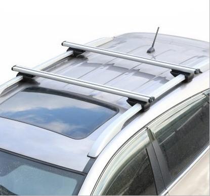 2X Car Roof Rack Cross Bar Anti-theft Lock Aluminum Luggage Carrier FIT FOR Opel Mazda renault peugeot skoda citroen Car-Styling(China (Mainland))