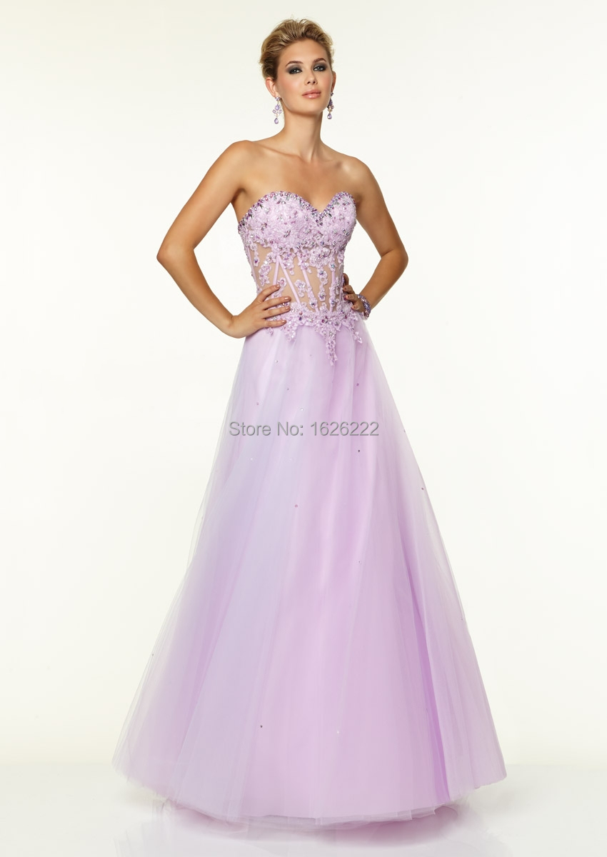 Lilac Blue Bridesmaid Dresses images