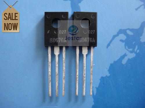 Транзистор 50PCS/LOT BD676A BD676 TO126 BAV70 50pcs lot 2sj503 j503