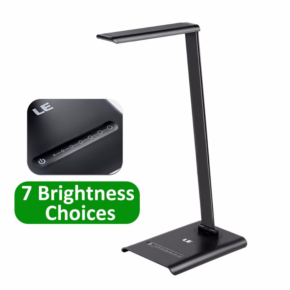 LE brand 6W Dimmable LED Desk Lamps,7-Level Brightness,Touch Sensitive Control,Folding Table Lamps,Reading Lamps,Bedroom Lamps(China (Mainland))