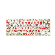 15X Plum blossom Flower Silicone Laptop Keyboard Skin Protector Cover Film Guard For All Apple Macbook Pro Air Retina 13 15 17