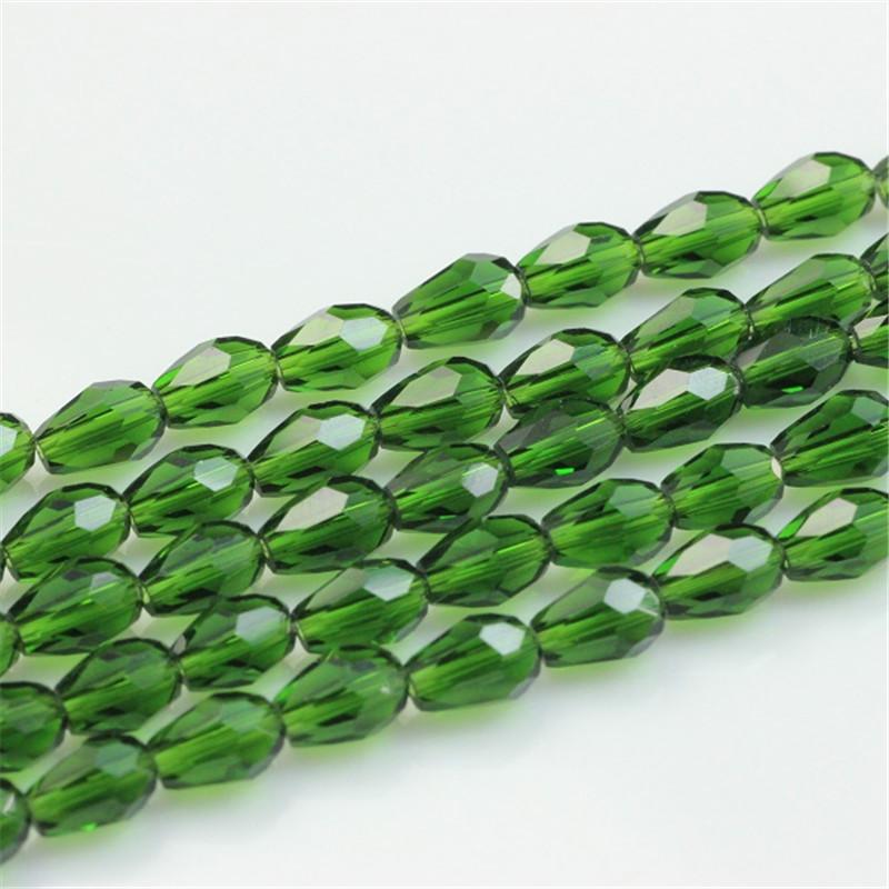 Tear Drop Beads 10*15MM (50PCS/LOT)AAA Austria Crystal Drop Beads loose Supply Jewelry DIY Drop Hole Accessories Handmade Beads(China (Mainland))
