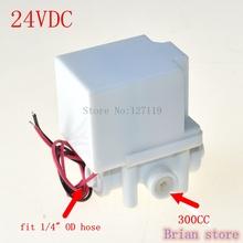 "1/4"" Hose quick connection NC Plastic Electric Water Solenoid Valve 18 seconds AUTO Flush valve(China (Mainland))"