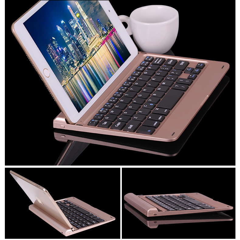 New Smart Degine Ultrathin Slim For Ipad Mini 4 Gold Silver Grey Compute External Wireless Bluetooth Keyboard(China (Mainland))
