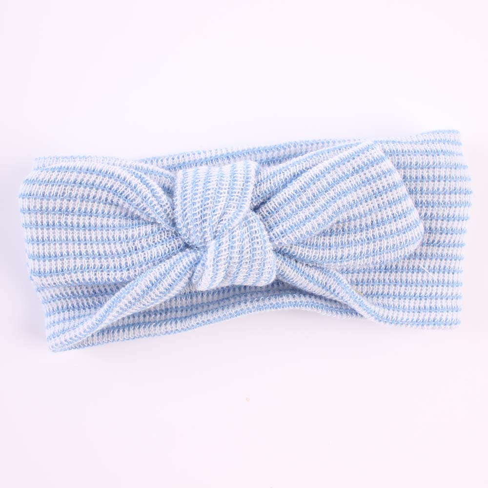 Cute Cotton Striped Children's Headband Hair Band Craft Gift Headwear Accessories Baby Headdress Shooting Props Decor ZQ78