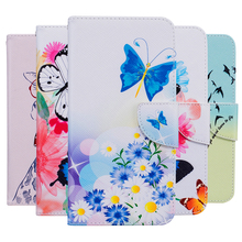 "Buy Fashion Printing PU Leather Cases LG K5/Q6 X220 X220 X220ds X220mb 5.0"" Flip Wallet Cover Card Slot Holder Stand Phone Bags for $4.38 in AliExpress store"