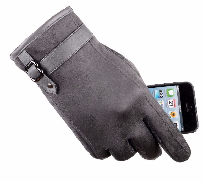 17GLV993 New arrival touch screen gloves with thick warm fleece cycling driving outdoor sports gloves