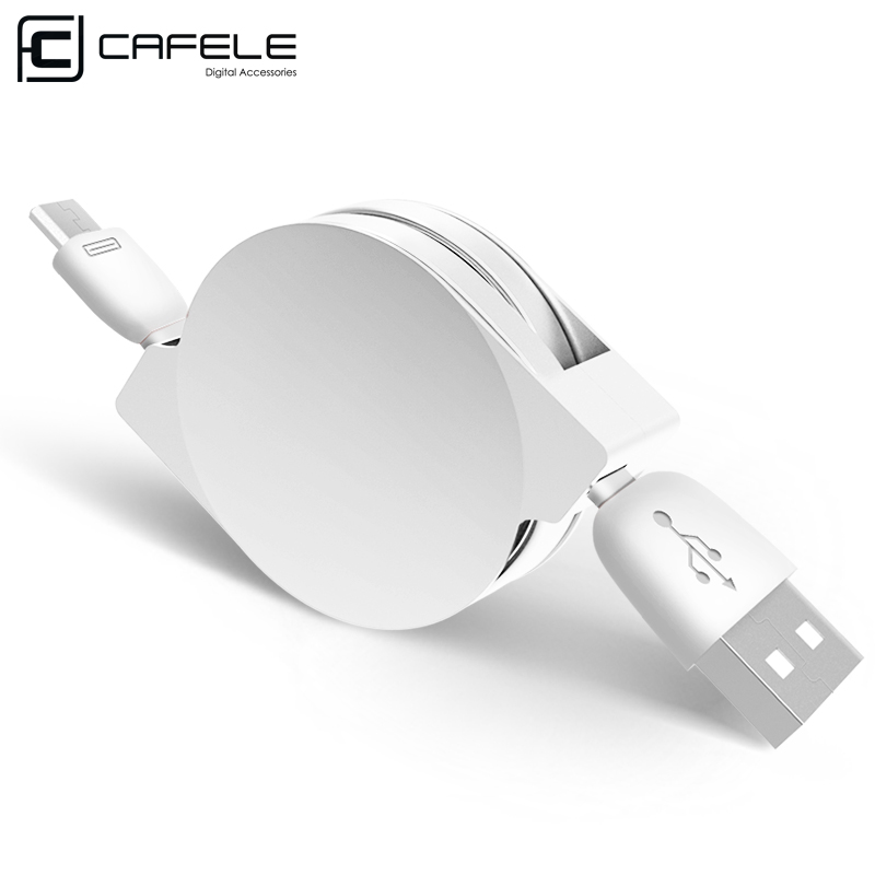 CAFELE 100cm Retractable micro usb cable for HTC for Android Huawei xiaomi fast charging data cable For Samsung S4 S6 Note 5(China (Mainland))
