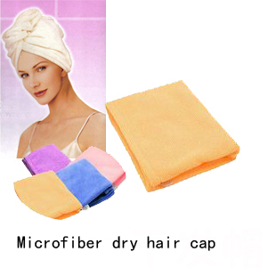 2016 New Direct Selling Rack Dry Hair Hat Cotton Microfiber Super Absorbent Japanese Thicker Scarf / Turban Shower Cap Specials(China (Mainland))