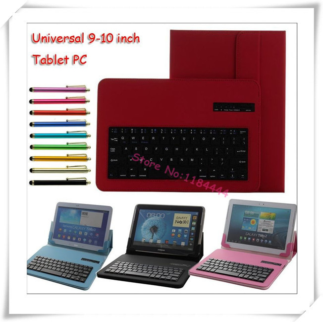 2in1 Bluetooth Keyboard Case Cover For HP ElitePad 900 G1 for HP Omni 10 for HP slate 10 HD 10.1 tablet cover case+Pen(China (Mainland))