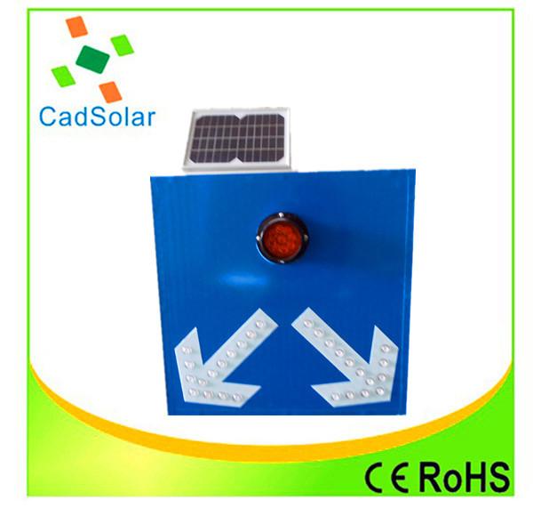 Aluminum led solar traffic warning sign board direction sign board(China (Mainland))