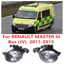 Renault MASTER 3/III Bus (JV) 2011-2015 Car Styling LIGHTS Front Bumper Halogen Fog Lamps High Brightness - E-J Fifi AUTO store