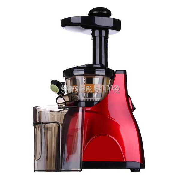 Lowest price Red colour electric slow juicer fruit juicer ...