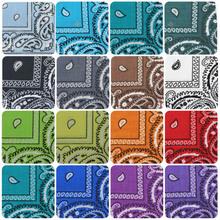 20 pcs Women Men Child Retro Vintage Cotton Handkerchiefs Quadrate Hanky 36 36 Lot