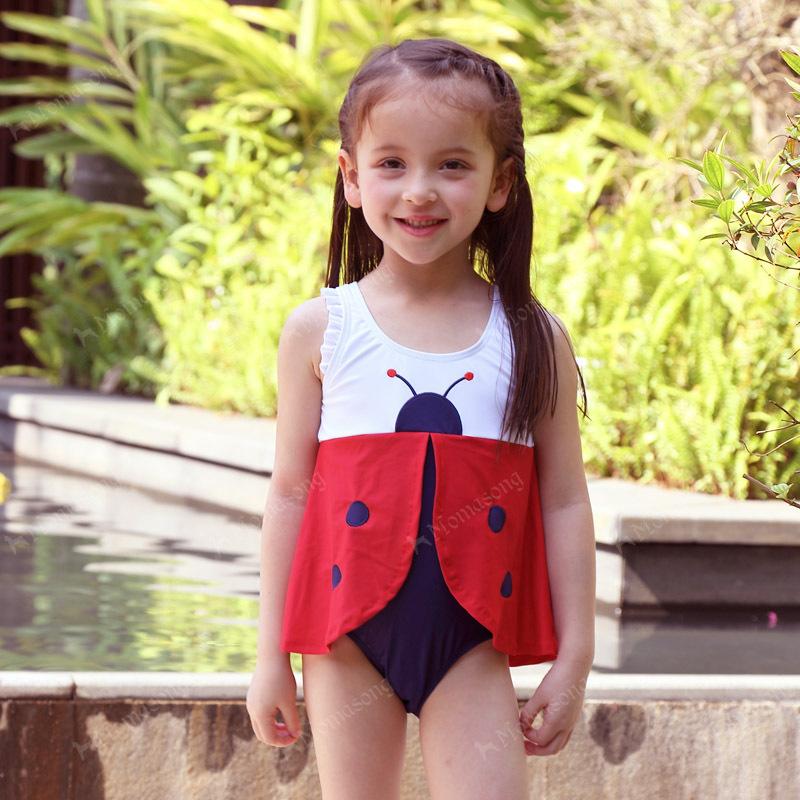 Девочки малышей купальники beatles дети купальный костюм одна часть 5 шт./лот, по умолчанию , чтобы отправить пять видов различных размеров