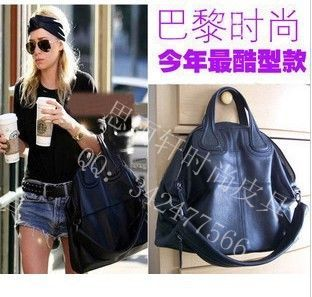 Star fashion bag fashion handbag shoulder bag casual bag women's handbag