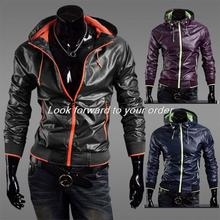 2015 Hotsell Fashon New Casual Jackets Men Beautiful Outerwear Jacket Coat Zipper Slim Design Drop Free
